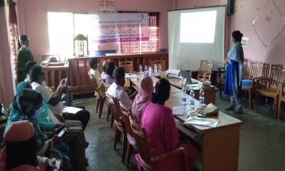 কালিয়াহরিপুর ইউনিয়ন পরিষদে তথ্য  সেবার মান উন্নয়ন বিষয়ক প্রশিক্ষণ