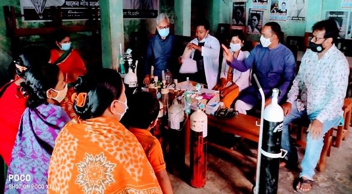 সিরাজগঞ্জ বিএনপি করোনা সেন্টারে রোগীদের ভীড় বাড়ছে